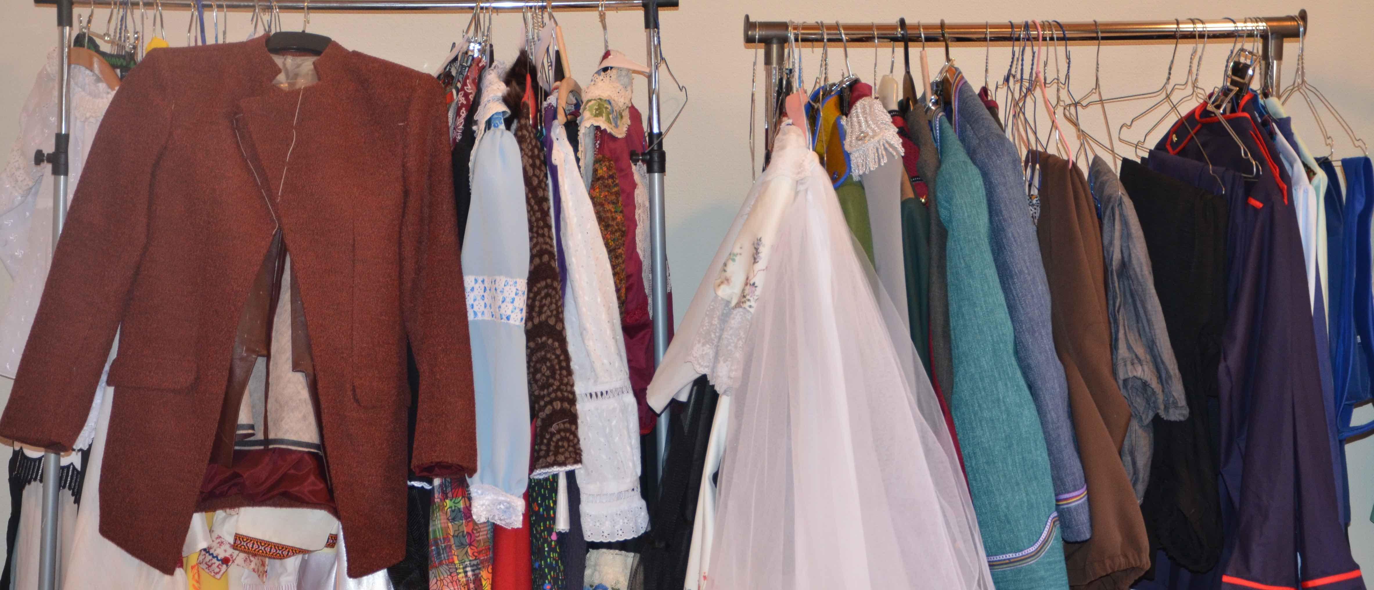 De Weekend sinn dem Sylvie Hamus seng Kostümer ukomm